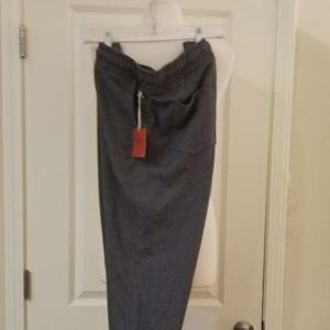 Mens Gray Jogger Sweat Pants NEW